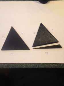 Printed Triangles