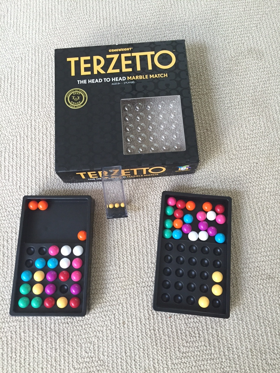 Terzetto from Gamewright - YouTube