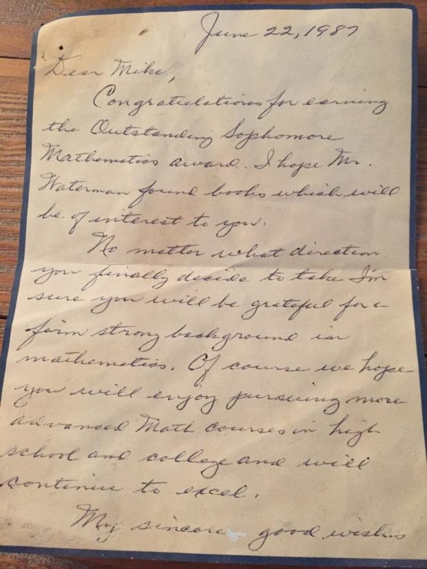 VLP letter