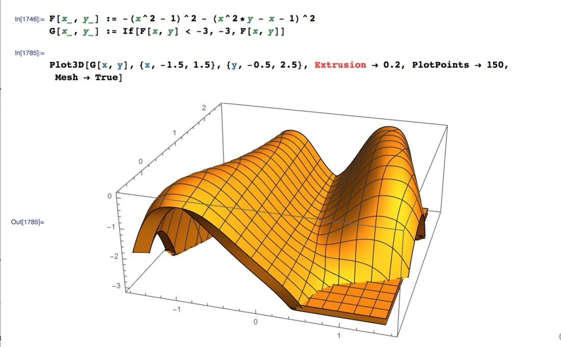 John Cook's neat surface example – Mike's Math Page