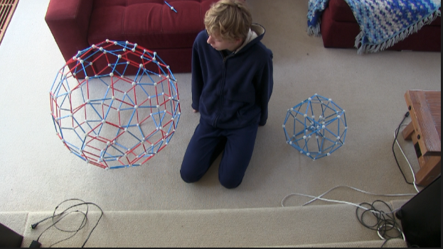 """Playing with """"zonish polyhedra"""" and the icosidodecahedron – Mike's Math Page"""